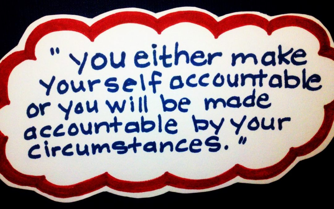 Accountability and your finances